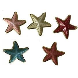 Acessorio ref. 9432 - estrela- aprox 3 x 3 cm  c/ 10 unds