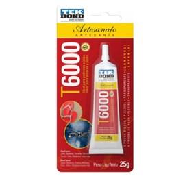Adesivo para artesanato t6000 - 25 grs