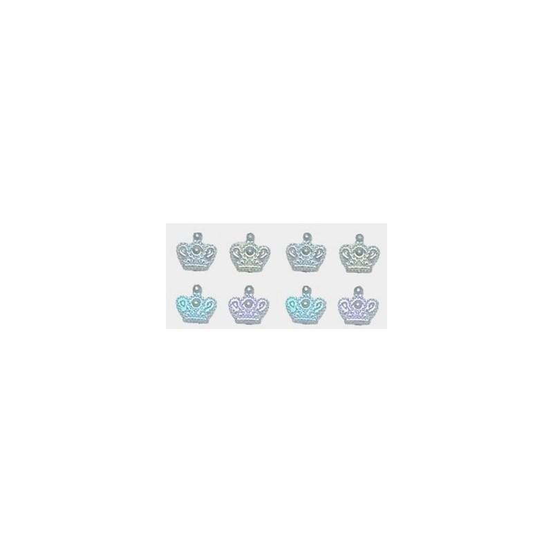 Aplic. cartela coroas n.12 c/ 72 unds