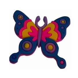 Aplic. de borracha ap-42 borboleta aprox. 3 cm c/ 10 unds