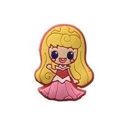 Aplic. emborrachada wa 3026 - princesa - 27 x 34 mm c/ 10 unds