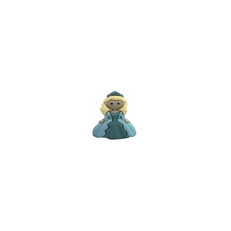 Aplic. resina wa 2529 - princesa - 26 x 38 mm c/ 10 unds