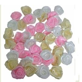 Aplic. rococo rosa 25 mm c/ 100 unds