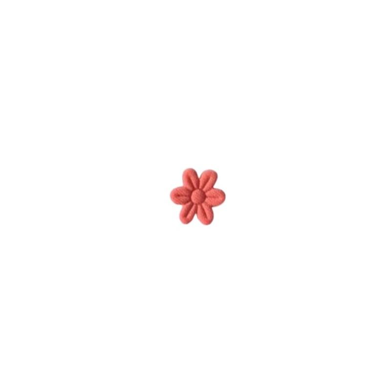 Aplicação flor prensada - aprox. 1.5 cm  c/ 100 unds