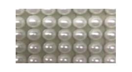 Aplicação meia perola 6 mm - folha 30 x 23 cm