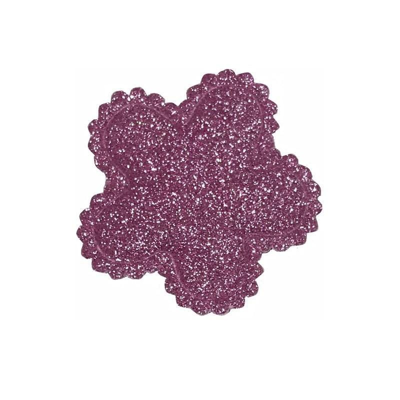 Apliq metalizado flor  melaço  ref.900111 c/ 100 unds