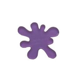 Aplique acrilico slime roxo - aprox. 3 cm c/ 5 unds