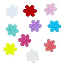 Aplique flor prensada ref. ag-20 - 2 cm c/ 1000 unds