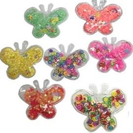 Aplique lantejoula borboleta - aprox. 5 cm - pct c/ 5 unds