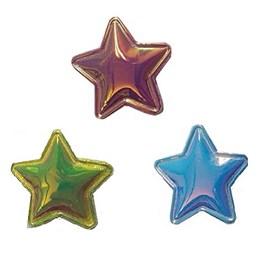 Aplique metal estrela ref. 150074 c/ 10 unds