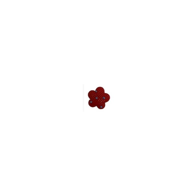 Aplique plastico ref.mon-2- estrela  aprox. 2,8 x 2.5 cm c/ 10 unds