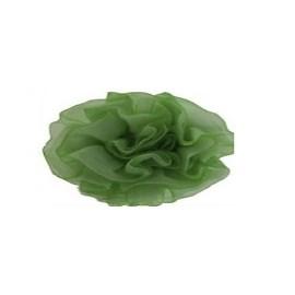 Aplique ref. 13 - flor voil - 6 cm  c/ 10 unds