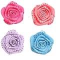 Aplique ref. 33 - flor poa aprox. 3 cm c/ 10 unds