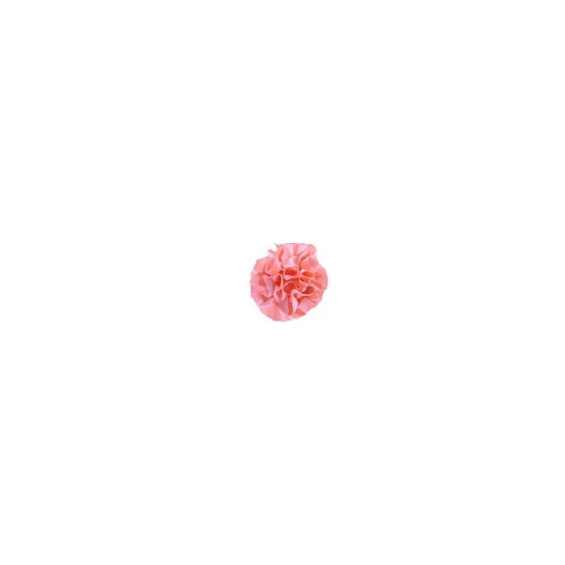 Aplique ref. 52 - flor em cetim - 6 cm c/ 10 unds