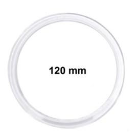 Argola acrilica cristal n.120 diametro 120mm c/ 24 pcs