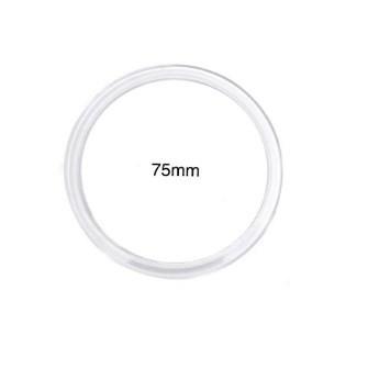 Argola acrilica jowama cristal n. 75 c/ 36 pcs