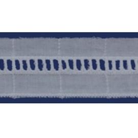 Bordado algodao bdja 1626 - 3.5 cm c/ 13.7 mts
