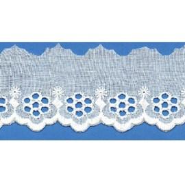 Bordado algodão ref. 6217 - 5.60 cm x 14.4 mts