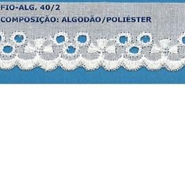 Bordado algodão ref. 6309 - 3.50 cm x 14.4 mts