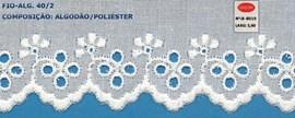 Bordado algodão ref. 808019 - 5.60 cm x 14.4 mts