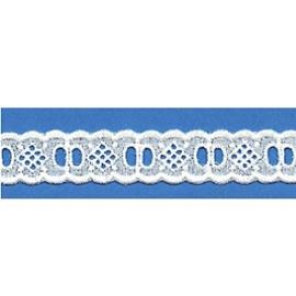 Bordado algodão ref. 811064 - 2.30 cm c/ 14.4 mts