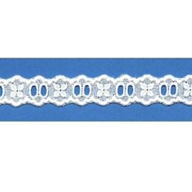Bordado algodão ref. 850323 - 2 cm x 14.4 mts