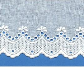 Bordado algodão ref. 850344 - 10 cm x 14.4 mts