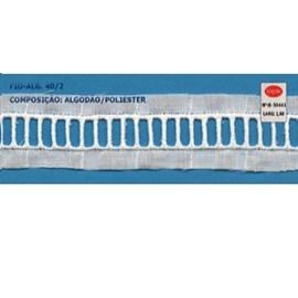 Bordado algodão ref. 850441- 2.60 cm x 14.4 mts