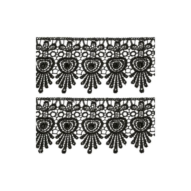 Bordado nybc chl-436 - 6 cm c/ 13.7 mts