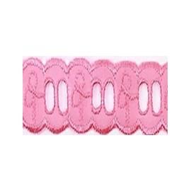 Bordado passafita nybc ctl 102 - 90% poliester / 10% algodão- aprox. 2.5 cm   c/ 13,7 mts