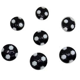 Botão inf. ref. 6016 - bola  - aprox. 1.5 cm  c/ 25 unds