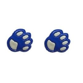 Botão ref. 6041 - patinhas - aprox. 1.5 cm c/ 25 unds