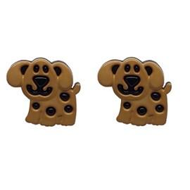 Botão ref. 6077 - cachorrinho - aprox. 2 cm c/ 25 unds