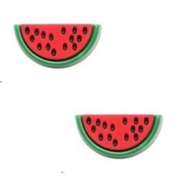 Botão ref.6105 - melancia - aprox.1.5 x  2,5  cm c/ 25 unds