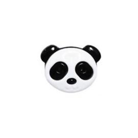 Botão ref. 6149 - panda - 2.2 x 2.0 cm c/ 10 unds