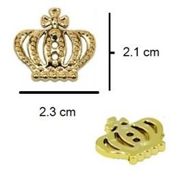 Botão ref. 9981 - coroa aprox. 2 x 2 cm  c/ 2 furos c/  10  unds