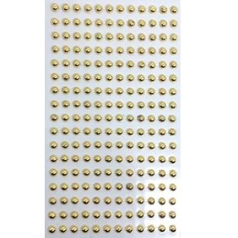 Cartela adesiva meia perola 5 mm c/ 204 unds