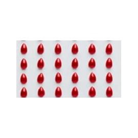 Cartela aplic. gota - 6 mm c/ 140  unds