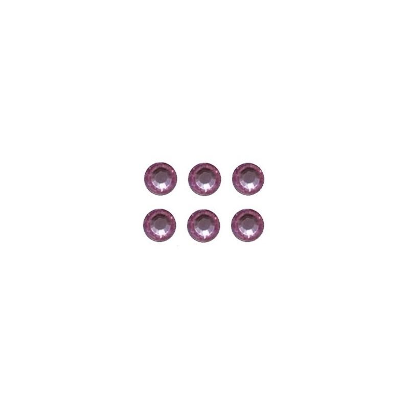 Cartela strass 8 mm c/ 220  unds