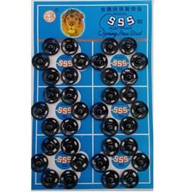 Colchete pressão preto n 2 c/ 72 unds