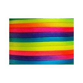 Cordão cetim  multicolor -  3 mm c/ 25 mts