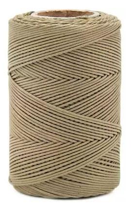 Cordao encerado danitex n.05 c/ 100 mts 9989 preto