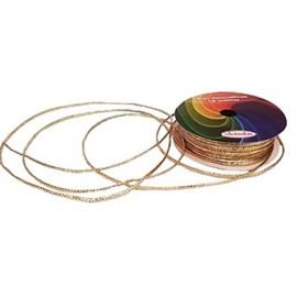 Cordão metalizado 2 mm c/ 10 mts