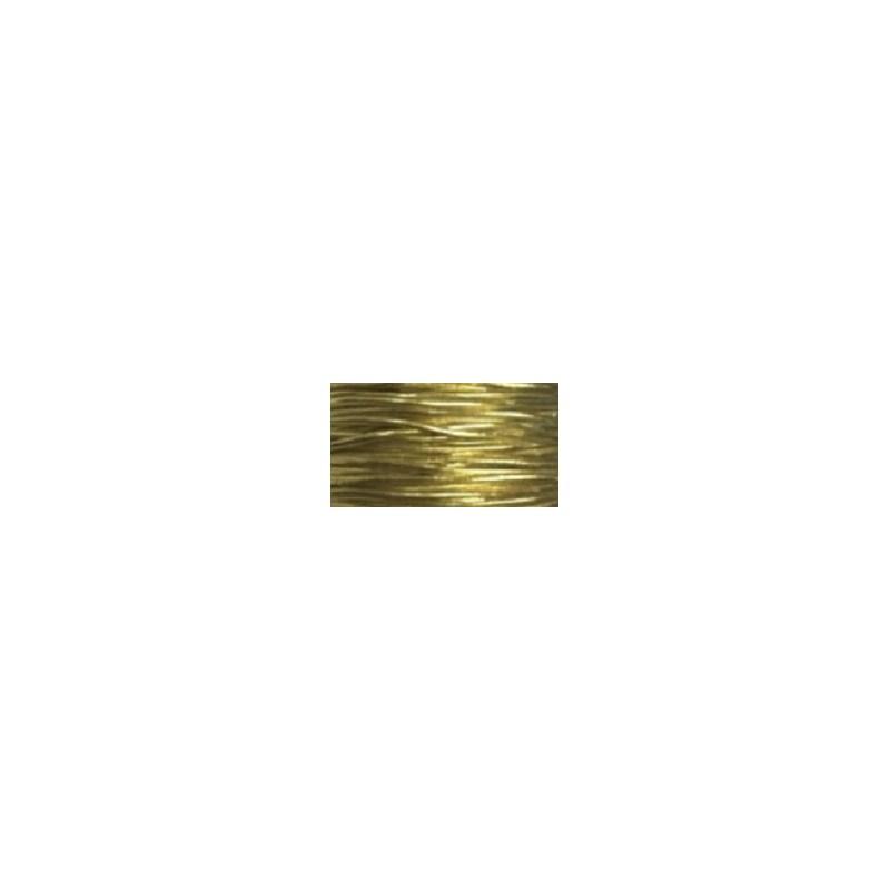 Cordao metalizado com elastico ref.301 / 535104 1.5 mm x 50mts