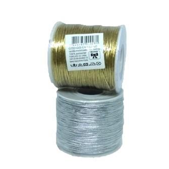 Cordao metalizado ref. 203 - 1 mm c/ 50 mts