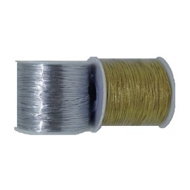 Cordao metalizado ref. 525105/525106 c/100 mts