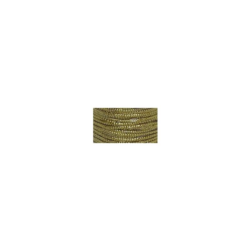 Cordao metalizado ref. 535105/535106 c/50 mts