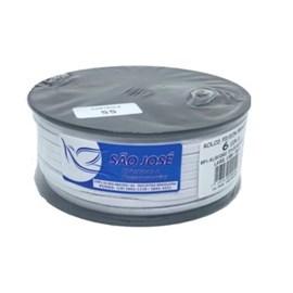 Elastico algodão n.06 ( 4 mm )  rolo c/ 100 mts