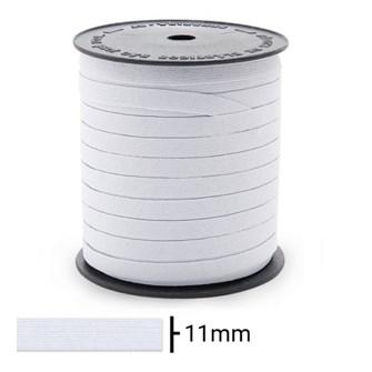 Elastico zanotti jaragua branco n.12 - 11 mm c/ 100 mts
