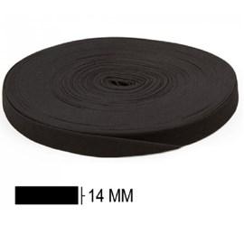 Elastico zanotti jaragua preto n. 15 - 14 mm c/ 25 mts